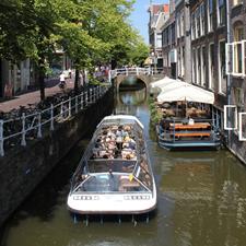 Rondvaart dichte boot